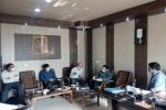 بازدید معاون سلامت و رئیس اداره بهداشت و مدیریت بیماریهای دامی اداره کل دامپزشکی یزد از شبکه دامپزشکی ابرکوه
